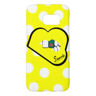 Sharnia's Lips Bangladesh Mobile Phone Case Yl Lp