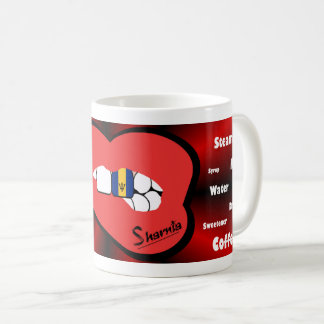 Sharnia's Lips Barbados Mug (RED Lip)