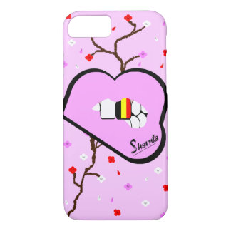Sharnia's Lips Belgium Mobile Phone Case (Lp Lips)