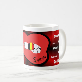 Sharnia's Lips Belgium Mug (RED Lip)