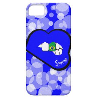 Sharnia's Lips Brazil Mobile Phone Case (Blu Lips)