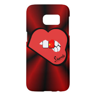 Sharnia's Lips China Mobile Phone Case (Rd Lips)