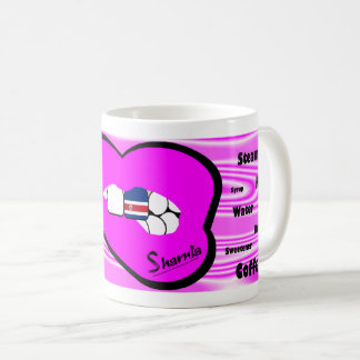 Sharnia's Lips Costa Rica Mug (PINK Lip)