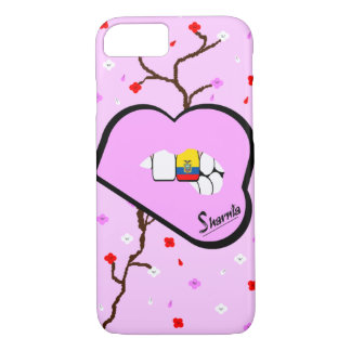 Sharnia's Lips Ecuador Mobile Phone Case (Lp Lips)