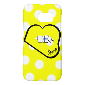 Sharnia's Lips Finland Mobile Phone Case (Yl Lips)