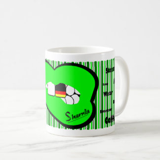 Sharnia's Lips Germany Mug (GREEN Lip)