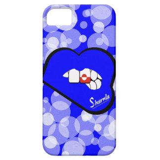 Sharnia's Lips Greenland Mobile Phone Case Blu Lip