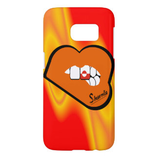 Sharnia's Lips Greenland Mobile Phone Case Or Lip