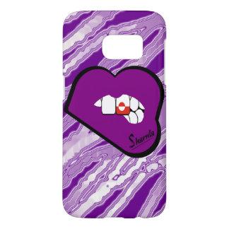 Sharnia's Lips Greenland Mobile Phone Case Pu Lip