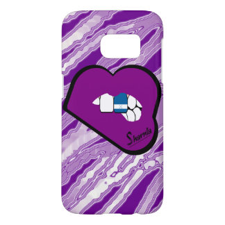 Sharnia's Lips Honduras Mobile Phone Case Pu Lips