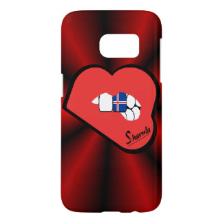 Sharnia's Lips Iceland Mobile Phone Case (Rd Lips)