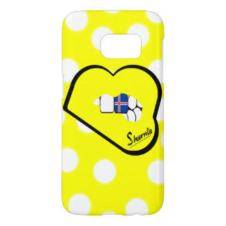 Sharnia's Lips Iceland Mobile Phone Case (Yl Lips)