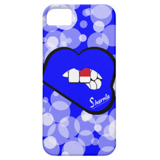 Sharnia's Lips Indonesia Mobile Phone Case Blu Lip
