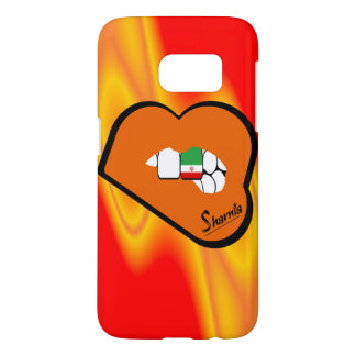 Sharnia's Lips Iran Mobile Phone Case (Or Lips)