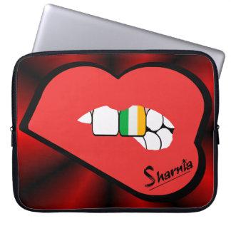 Sharnia's Lips Ireland Laptop Sleeve (Red Lips)