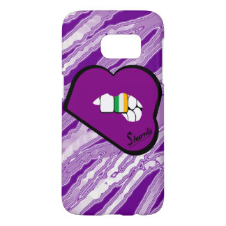 Sharnia's Lips Ireland Mobile Phone Case (Pu Lips)
