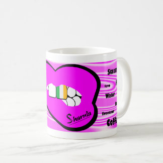 Sharnia's Lips Ireland Mug (PINK Lip)