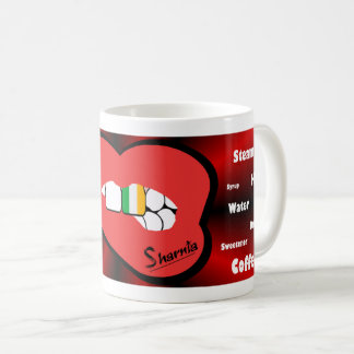 Sharnia's Lips Ireland Mug (RED Lip)