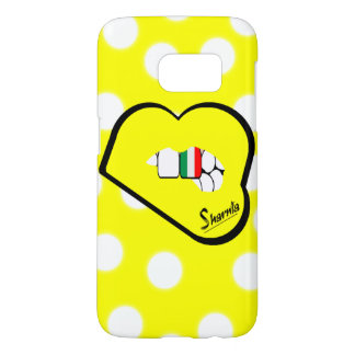 Sharnia's Lips Italy Mobile Phone Case (Yl Lips)