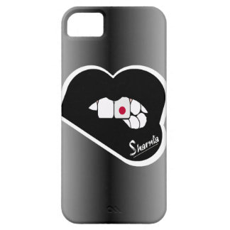Sharnia's Lips Japan Mobile Phone Case (Blk Lips)