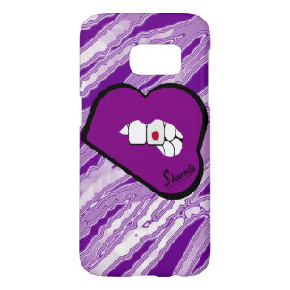 Sharnia's Lips Japan Mobile Phone Case (Pu Lips)