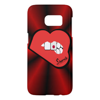 Sharnia's Lips Japan Mobile Phone Case (Rd Lips)