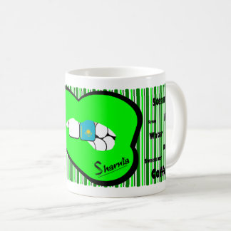 Sharnia's Lips Kazakhstan Mug (GREEN Lip)