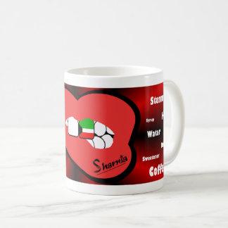 Sharnia's Lips Kuwait Mug (RED Lip)