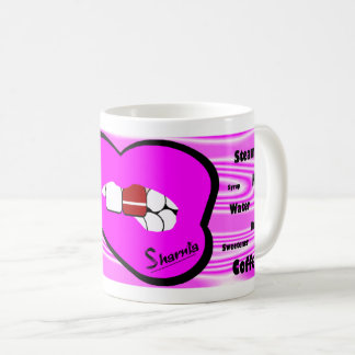 Sharnia's Lips Latvia Mug (PINK Lip)