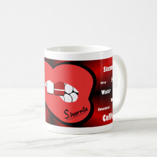Sharnia's Lips Latvia Mug (RED Lip)