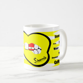 Sharnia's Lips Lebanon Mug (YEL Lip)