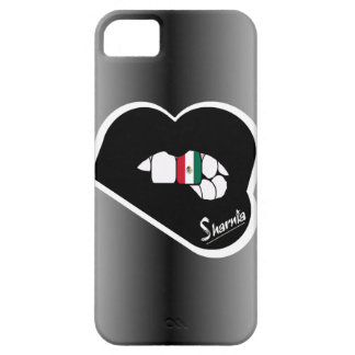 Sharnia's Lips Mexico Mobile Phone Case (Blk Lips)