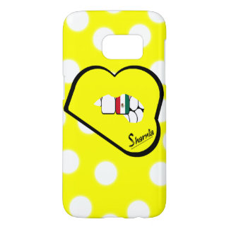 Sharnia's Lips Mexico Mobile Phone Case (Yl Lips)
