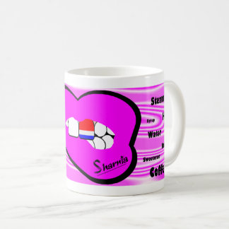 Sharnia's Lips Netherlands Mug (PINK Lip)