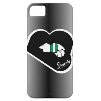 Sharnia's Lips Nigeria Mobile Phone Case Blk Lips