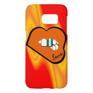 Sharnia's Lips Nigeria Mobile Phone Case (Or Lips)