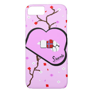 Sharnia's Lips Norway Mobile Phone Case (Lp Lips)