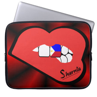 Sharnia's Lips Philippines Laptop Sleeve Red Lips