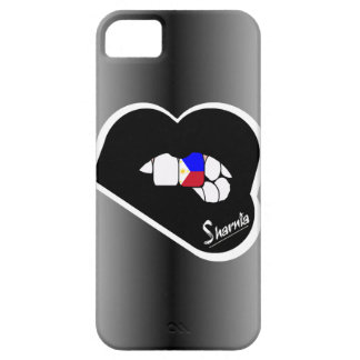 Sharnia's Lips Philippines Mobile Phone Case Blk L
