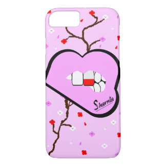 Sharnia's Lips Poland Mobile Phone Case (Lp Lips)
