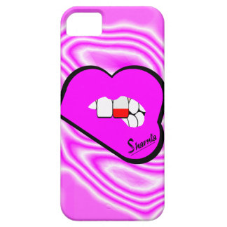 Sharnia's Lips Poland Mobile Phone Case (Pk Lips)