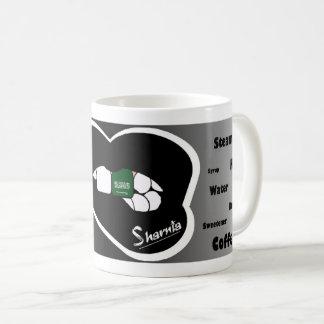 Sharnia's Lips Saudi Arabia Mug (Blk Lip)