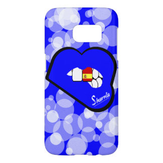 Sharnia's Lips Spain Mobile Phone Case Blu Lp