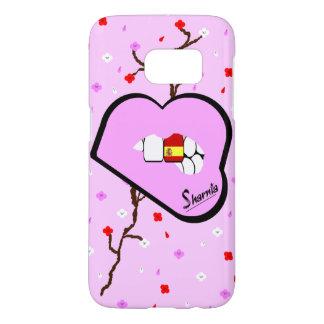 Sharnia's Lips Spain Mobile Phone Case LP Lp