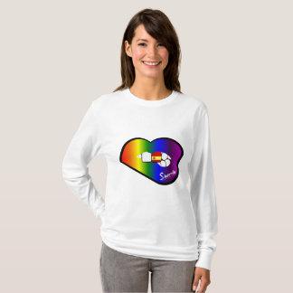 Sharnia's Lips Spain Sweater (Rainbow Lips)