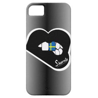 Sharnia's Lips Sweden Mobile Phone Case (Blk Lips)