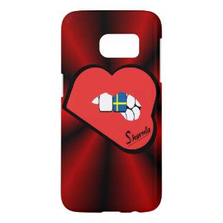 Sharnia's Lips Sweden Mobile Phone Case (Rd Lips)
