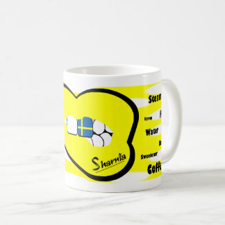 Sharnia's Lips Sweden Mug (YEL Lip)
