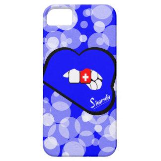 Sharnia's Lips Switzerland Mobile Phone Case Blu