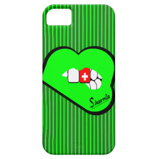 Sharnia's Lips Switzerland Mobile Phone Case Gr